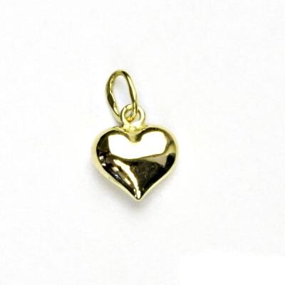 4cb57a502 Zlatý přívěsek,srdce, žluté zlato, zlaté srdíčko, přívěšek ze zlata, P 822